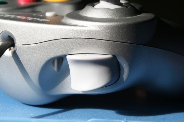 The GameCube's left trigger.