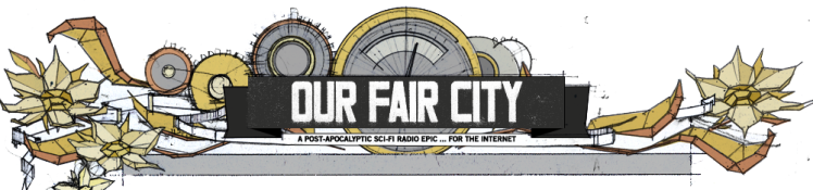 The   Our Fair City   logo