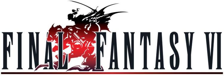 The  Final Fantasy VI  logo.