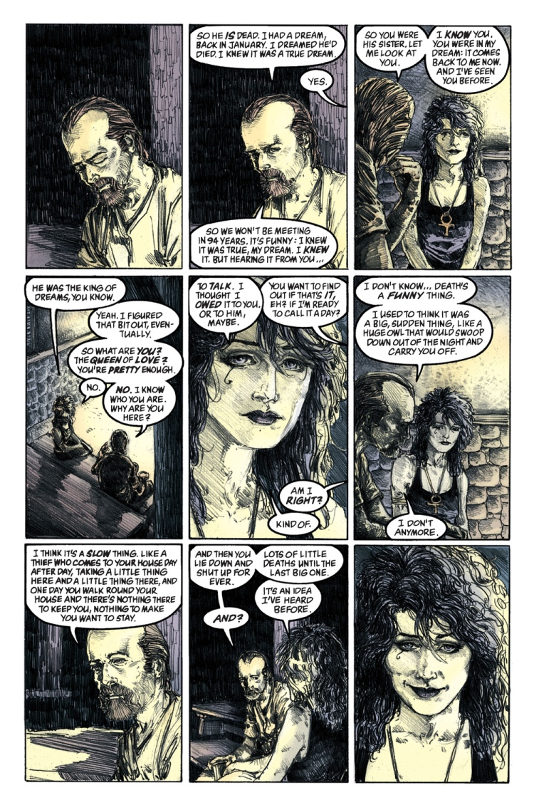 From  The Sandman: The Wake
